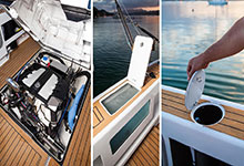 26 - Dek-King In Traditional Teak With Black Caulking - Image Courtesy Of Dickey Boats