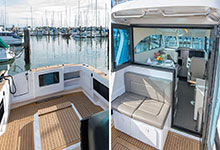 40 - Dek-King In Traditional Teak With Black Caulking - Image Courtesy Of Dickey Boats