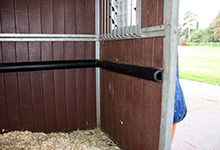 02 - PVC 2379 Fitted As Anti-cast Rail At Shadwell Stud