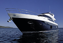 01 - 25mm Stainless Steel PVC 2480R - Image Courtesy Of Princess Yachts International Plc