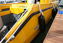 09 - PVC 898 Fitted To Cheetah Catamaran
