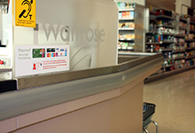 02- Waitrose 75mm Flexible Checkout Bumper