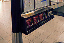 07- 30mm Buffer Fitted To Display In Schipol Airport