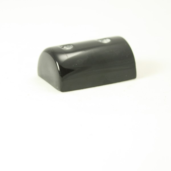 PVC 180/EC black GRP end cap