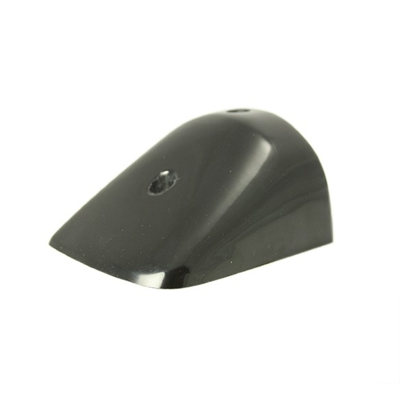 PVC 49 black GRP end cap