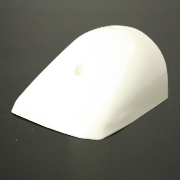 PVC 49 white GRP end cap