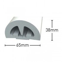 BUMP! 65mm easy-fit fendering profile