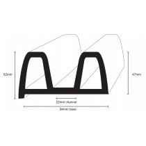 PVC 2583 - flexible B profile for the marine environment