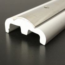 PVC 2300R boat rub rail designed to carry a 38mm stainless steel insert