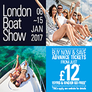 London Boat Show - early bird ticket offer @ £12pp