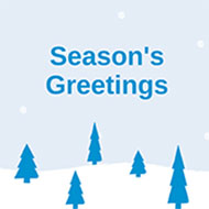 Season's Greetings and Holiday Closure