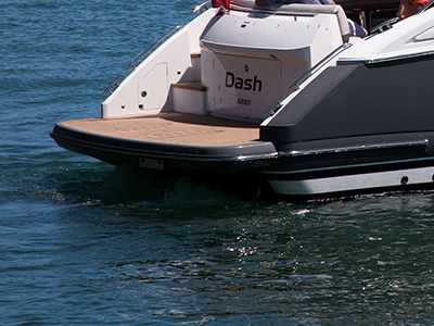 Princess Yachts Bathing Platform - PVC 2465