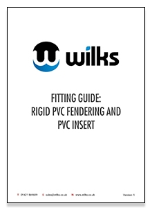Rigid and insert fitting guide