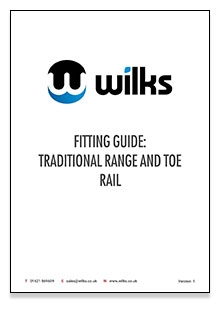 Traditional fitting guide