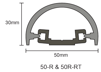 50mm Rigid Bump Rail