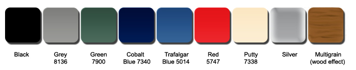 Wilks stock colour range