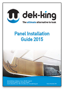 Dek-King Panel Installation Guide