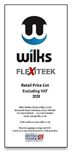 Wilks Price List