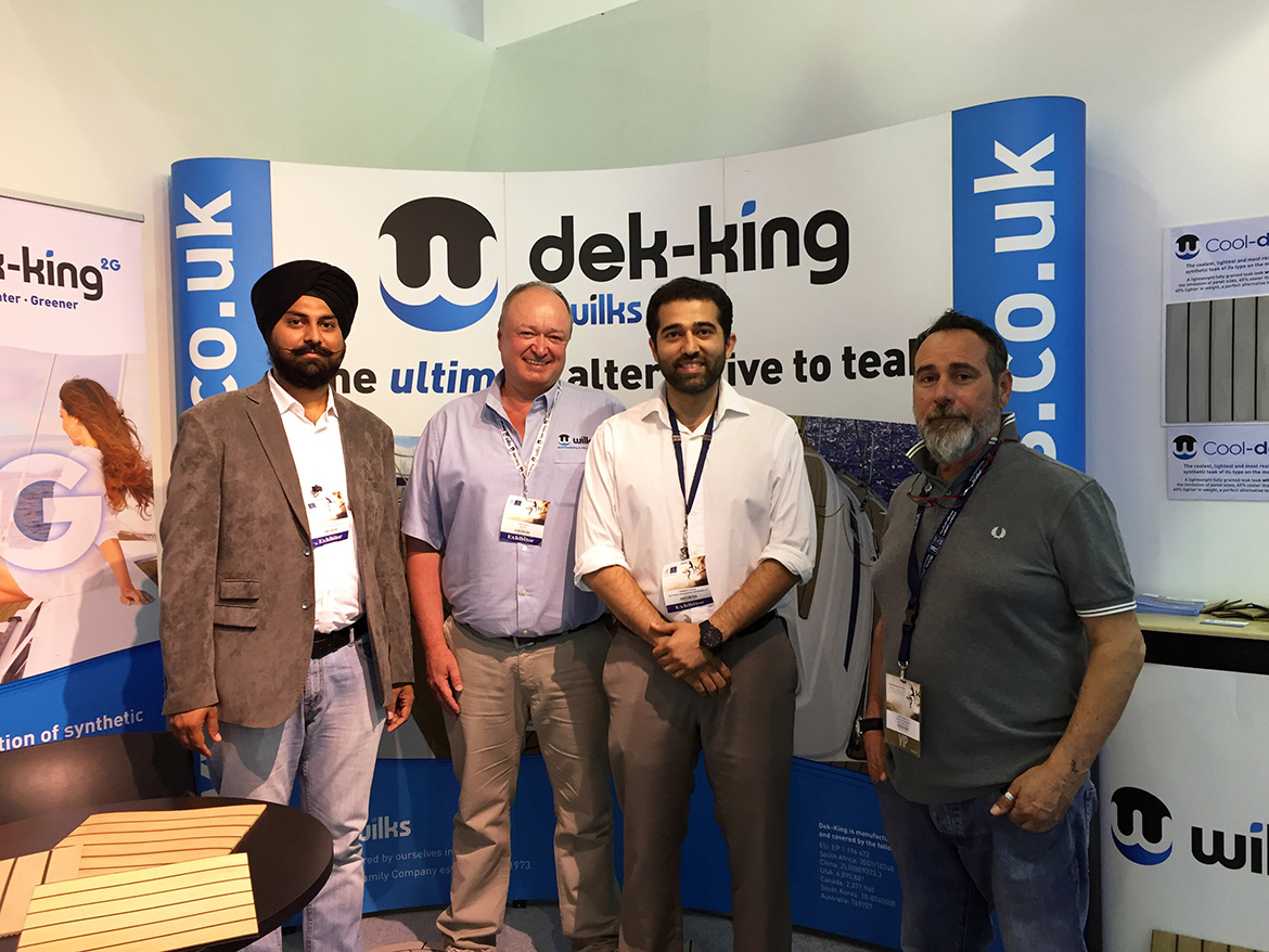 Navisafe appointed as official Dek-King Distributor and Fabrication Hub in Dubai