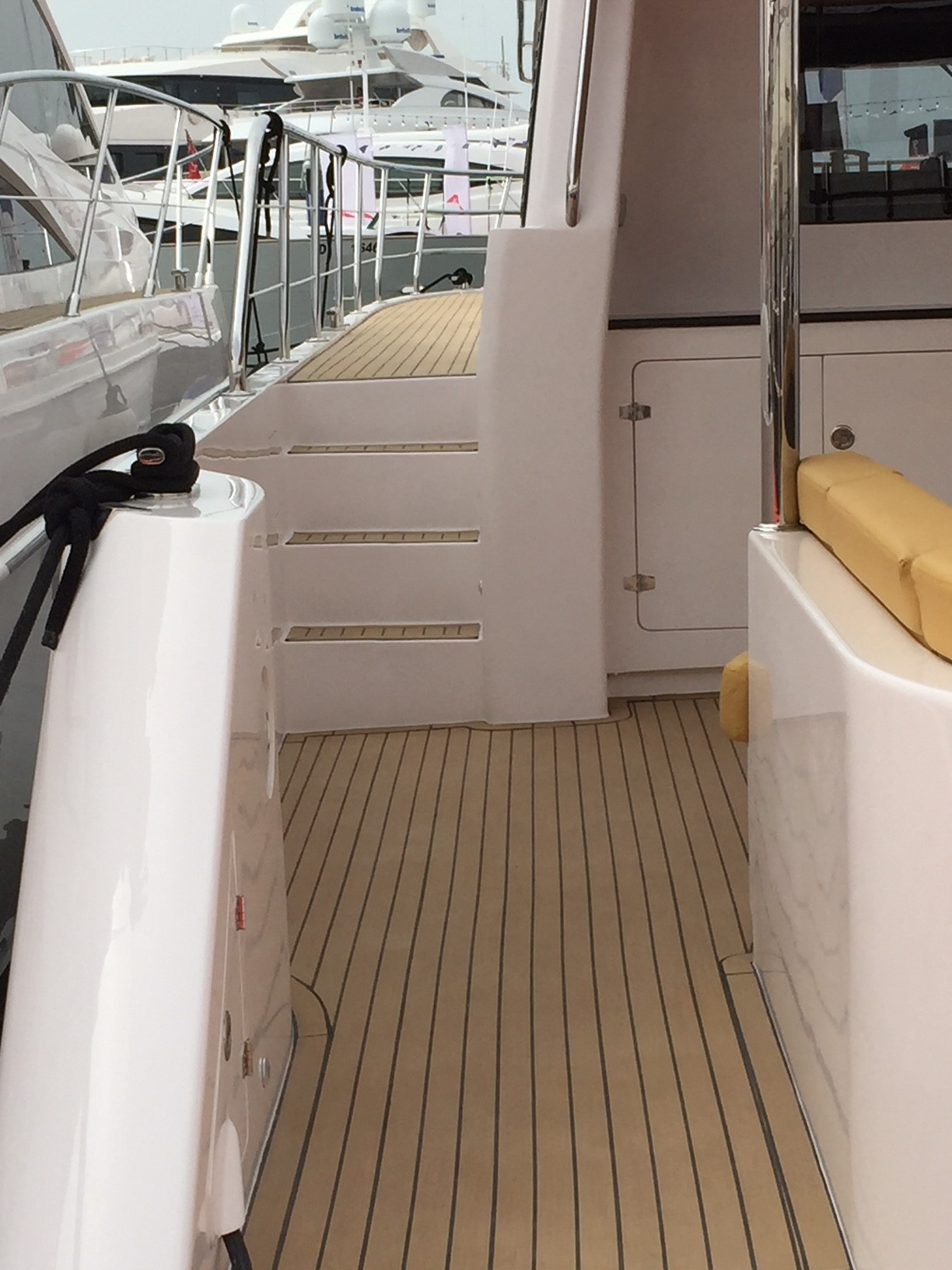 Riviera Boats fitted with Dek-King synthetic teak