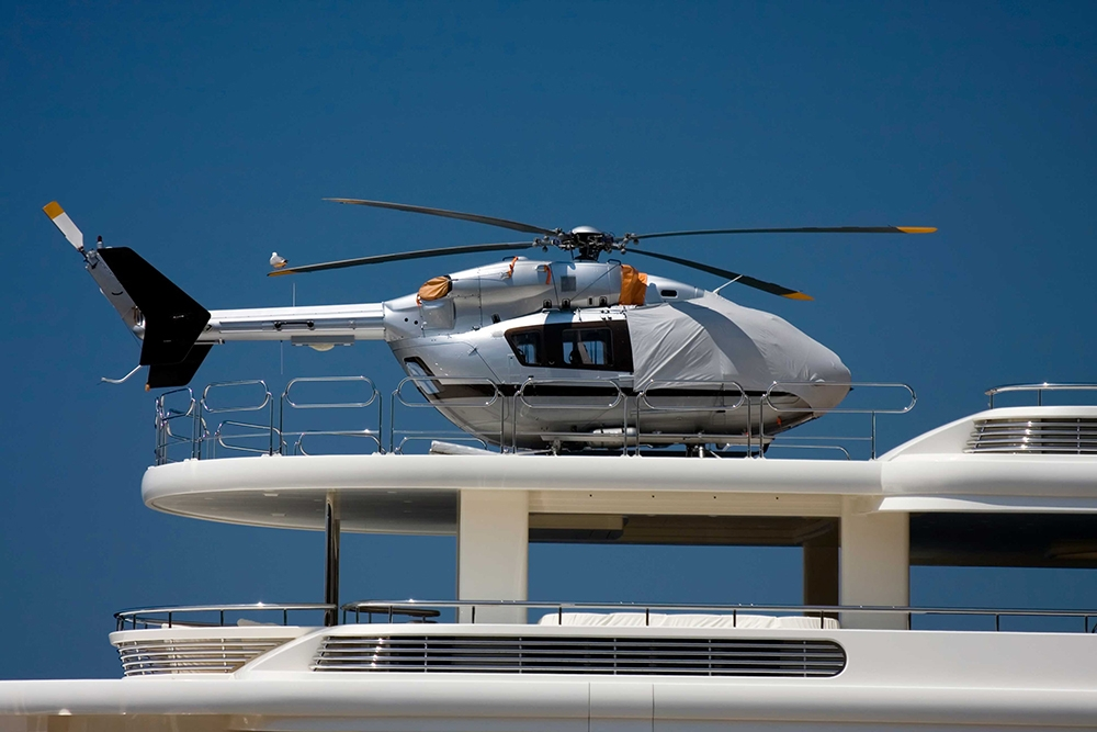 Dek-King Superyacht helipad