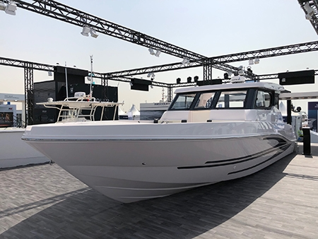 Gulf Craft stainless steel protection